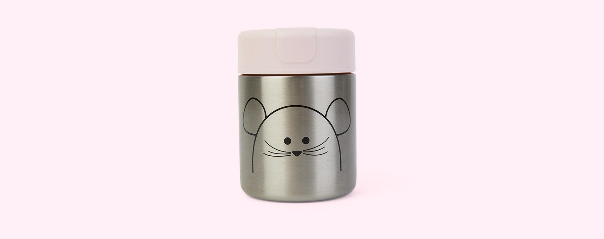 Little Chums Mouse Lassig Food Jar