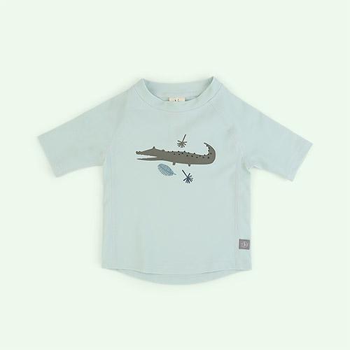 Crocodile Mint Lassig Short Sleeve Rashguard