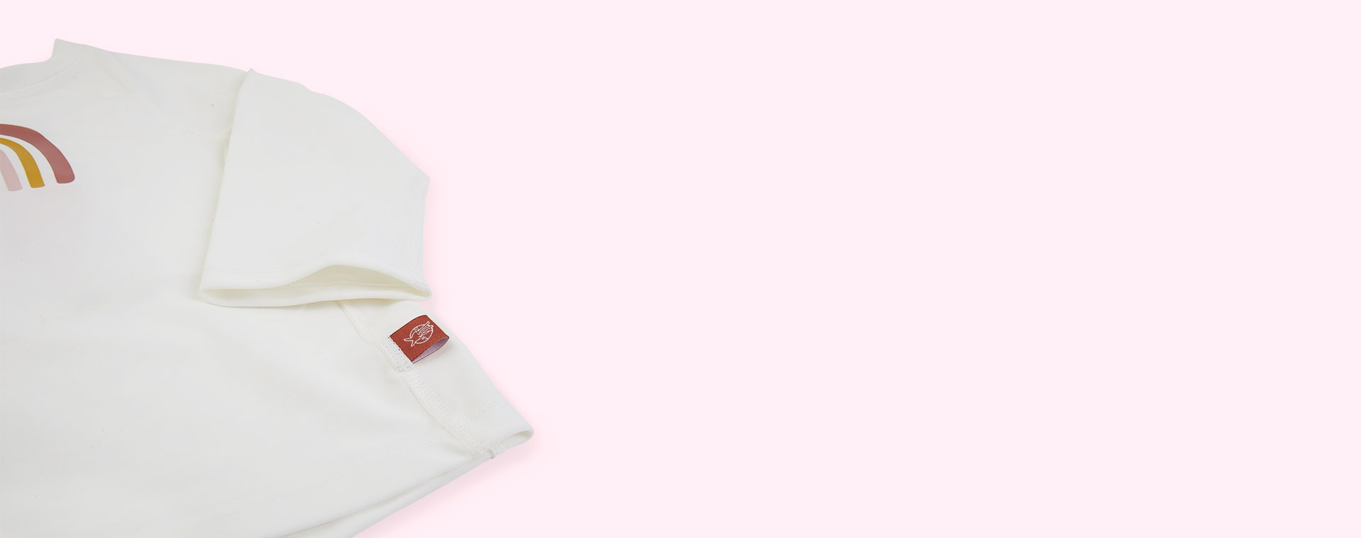Rainbow White Lassig Long Sleeve Rashguard