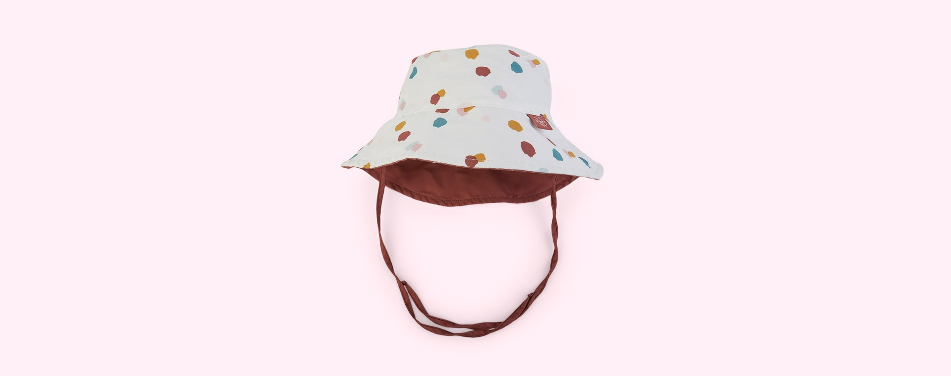 Spotted White Lassig Bucket Hat