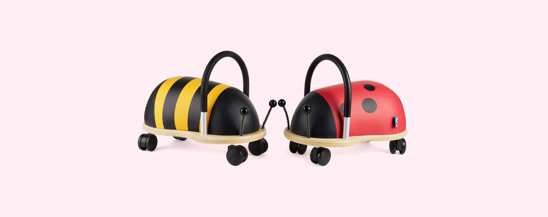 Red Wheely Bug Ladybird Ride-on
