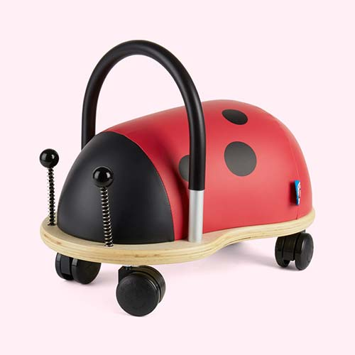 Red Wheely Bug Small Ladybird Ride-on