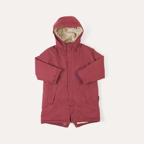 Tawny Port Red GOSOAKY Desert Fox Coat