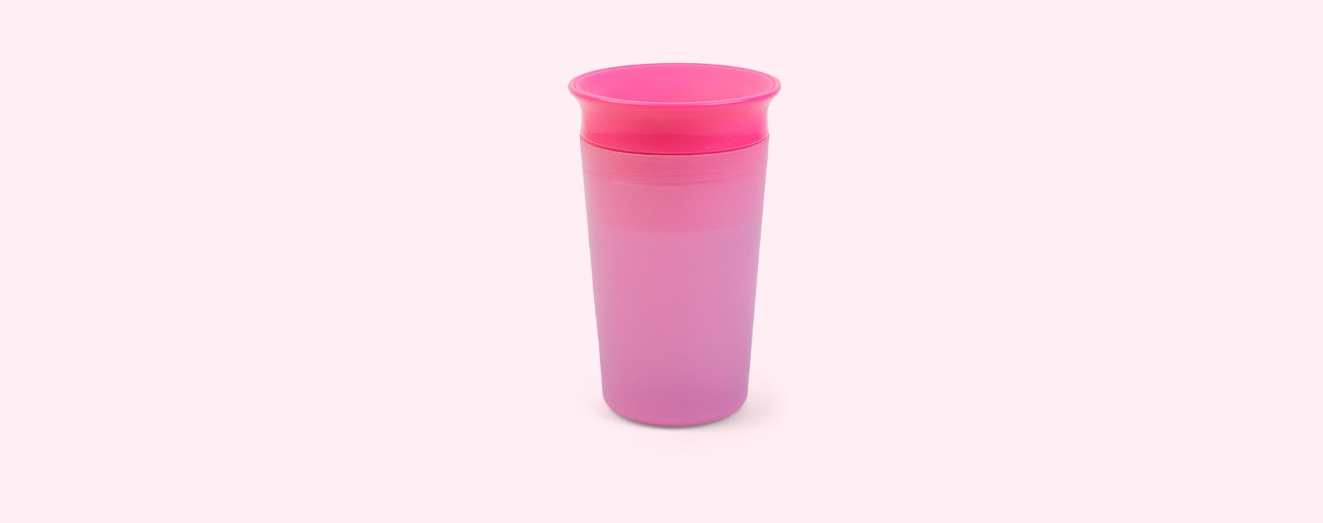 Pink/Purple Munchkin Miracle 360 Colour Changing Sippy Cup