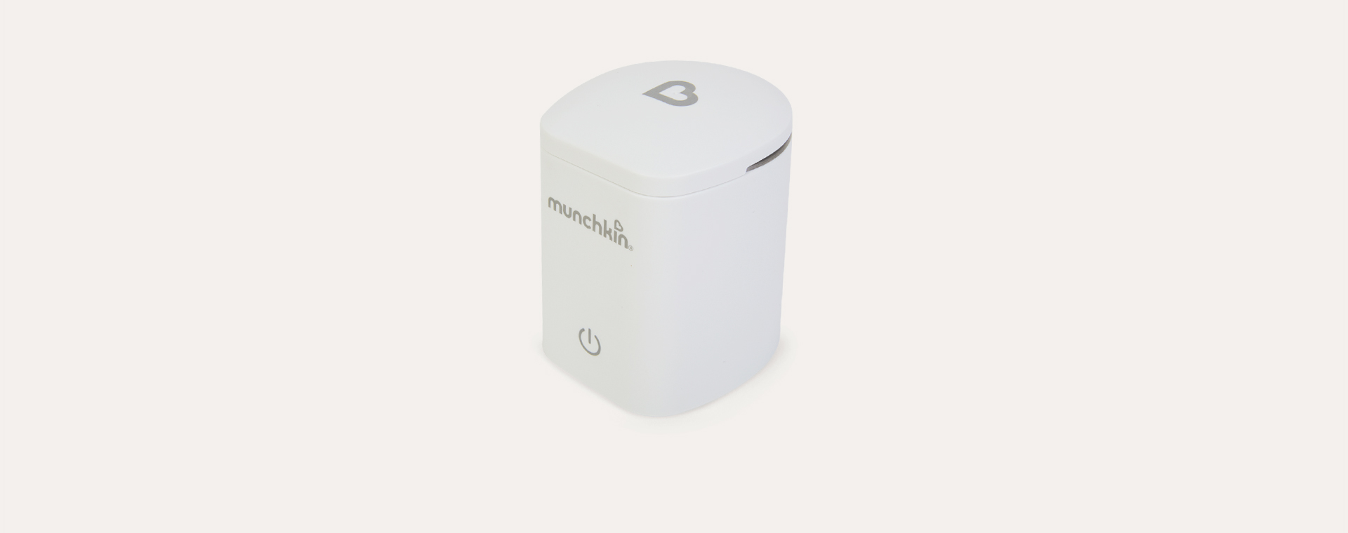White Munchkin 37°C Digital Bottle Warmer