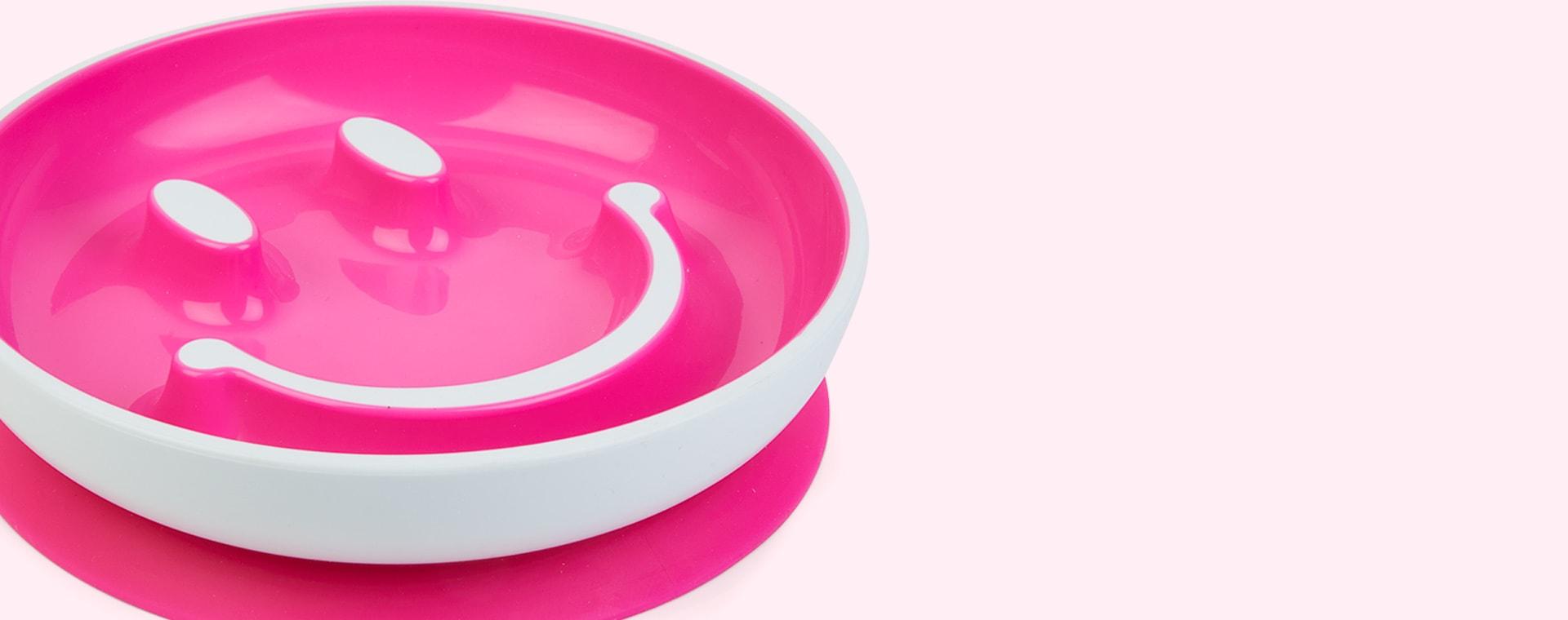Pink Munchkin Be Happy Toddler Dining Set