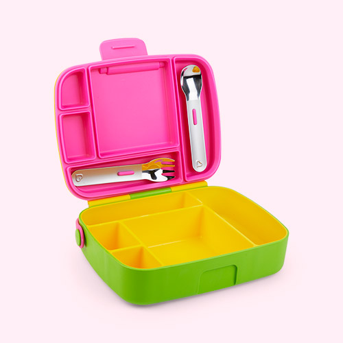 Pink and Green Munchkin Lunch Bento Box