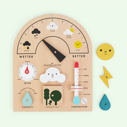 Multi Moon Picnic My Weather Station