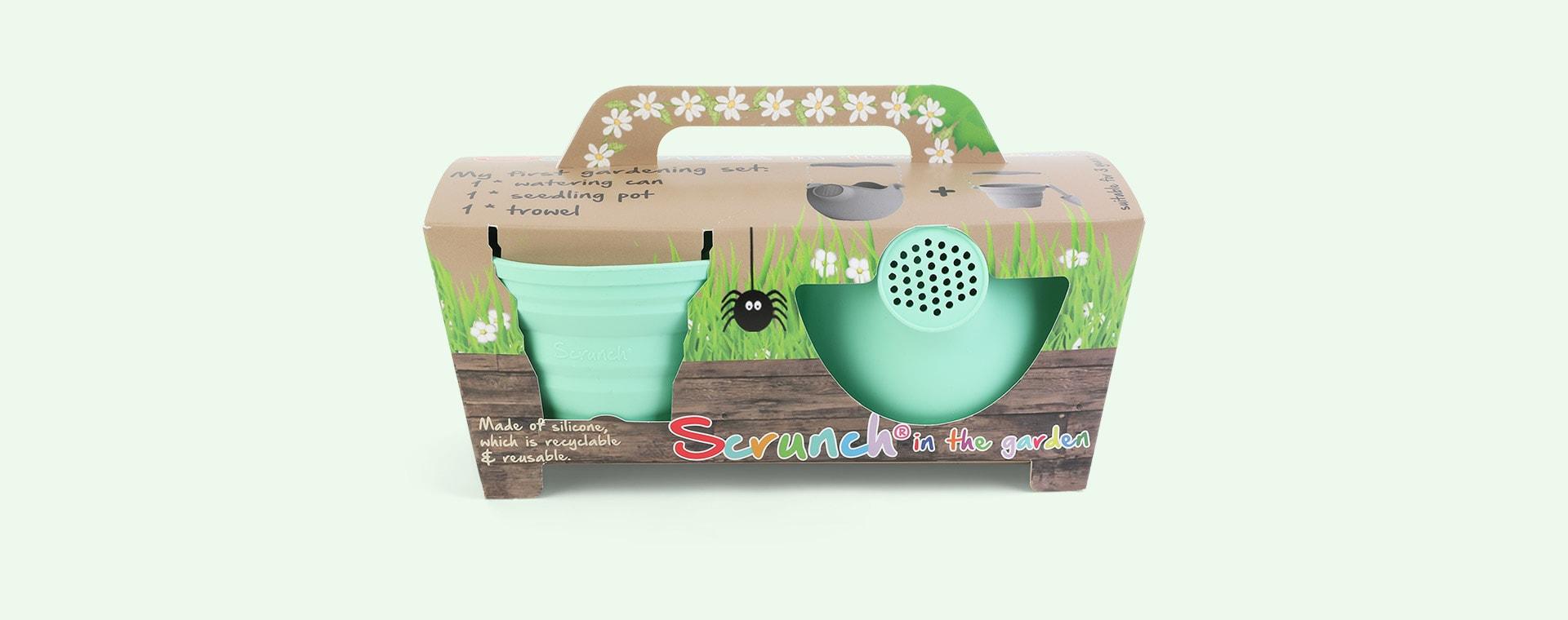 Spearmint Scrunch Scrunch Gardening Kit