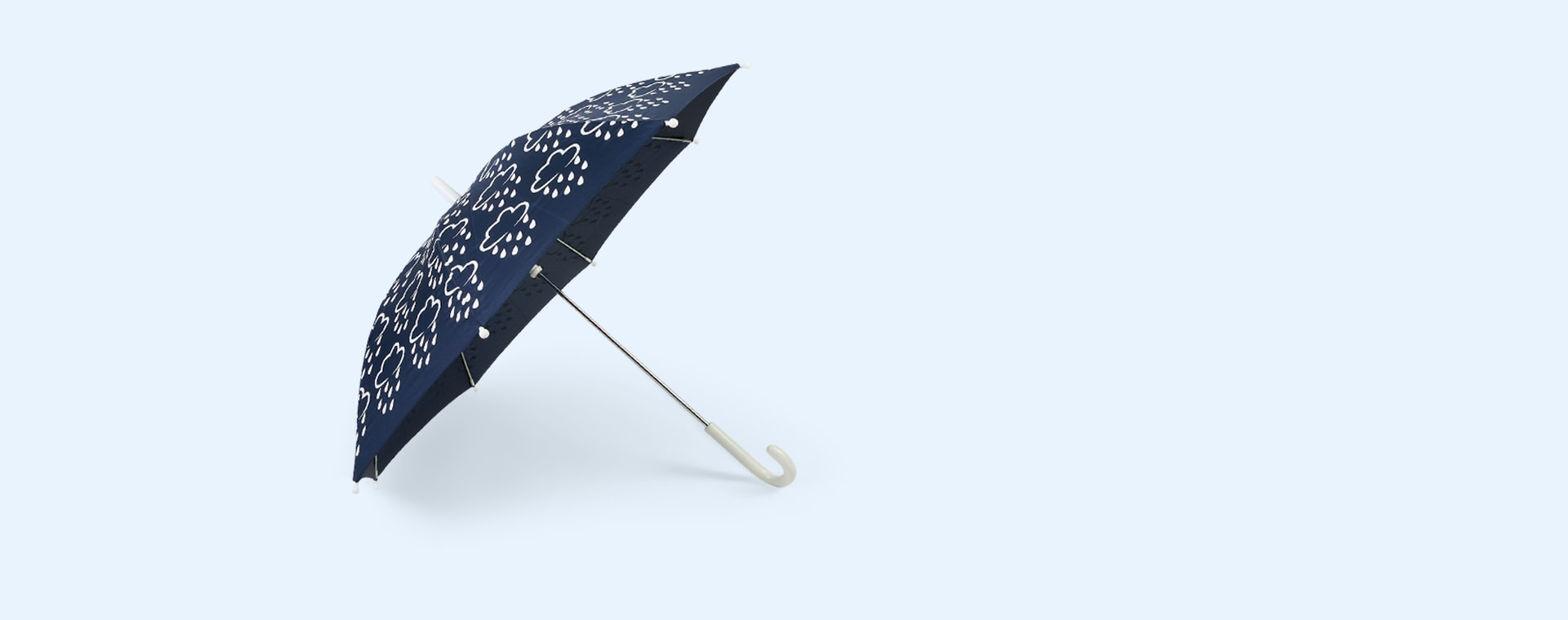 Navy Grass & Air Colour-Changing Umbrella