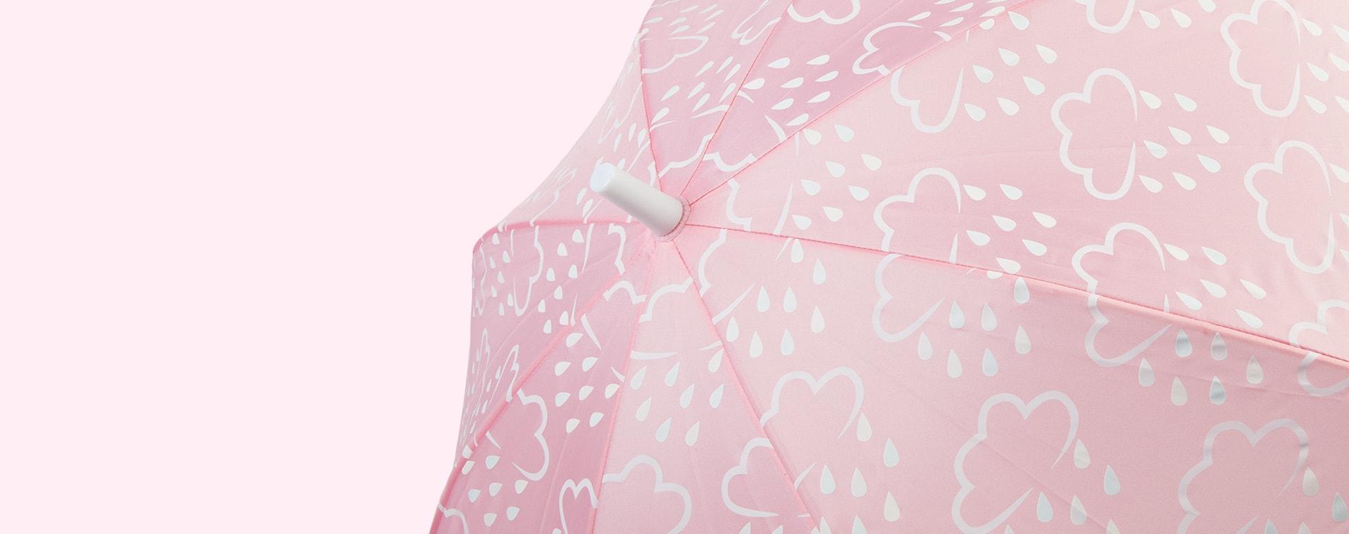 Baby Pink Grass & Air Colour-Changing Umbrella
