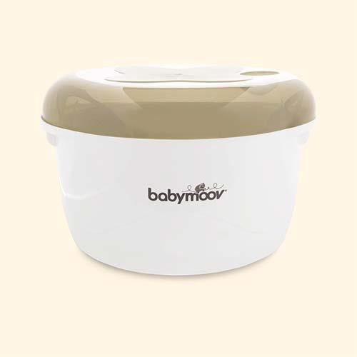 Cream Babymoov Microwave Steriliser
