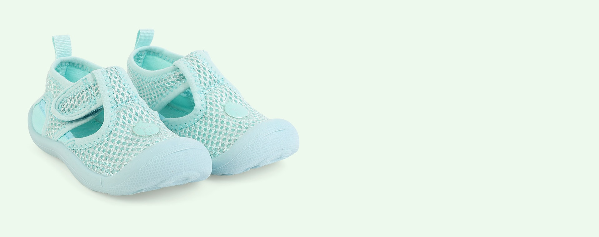 Mint Lassig Beach Sandals