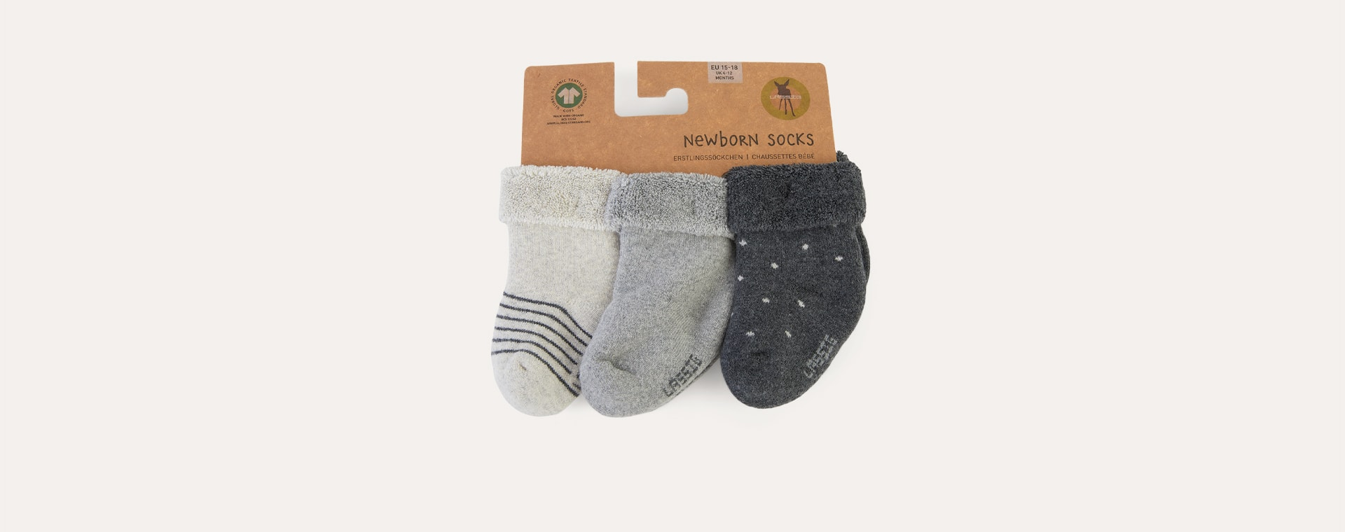 Grey Lassig Socks