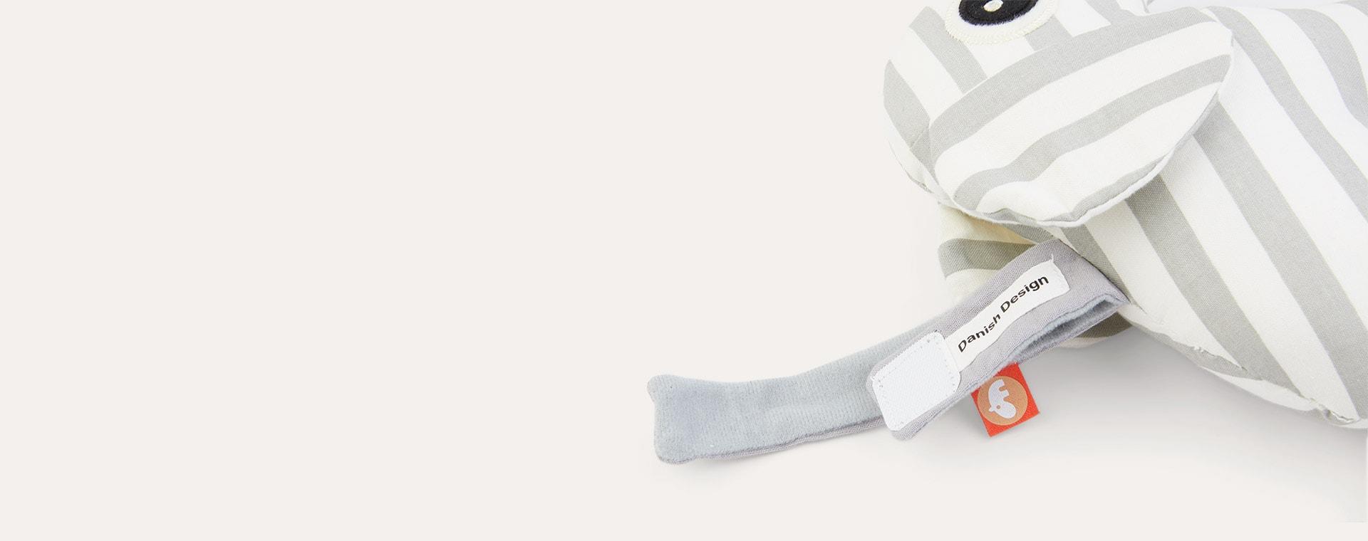 Grey Done By Deer Musical Toy Elphee