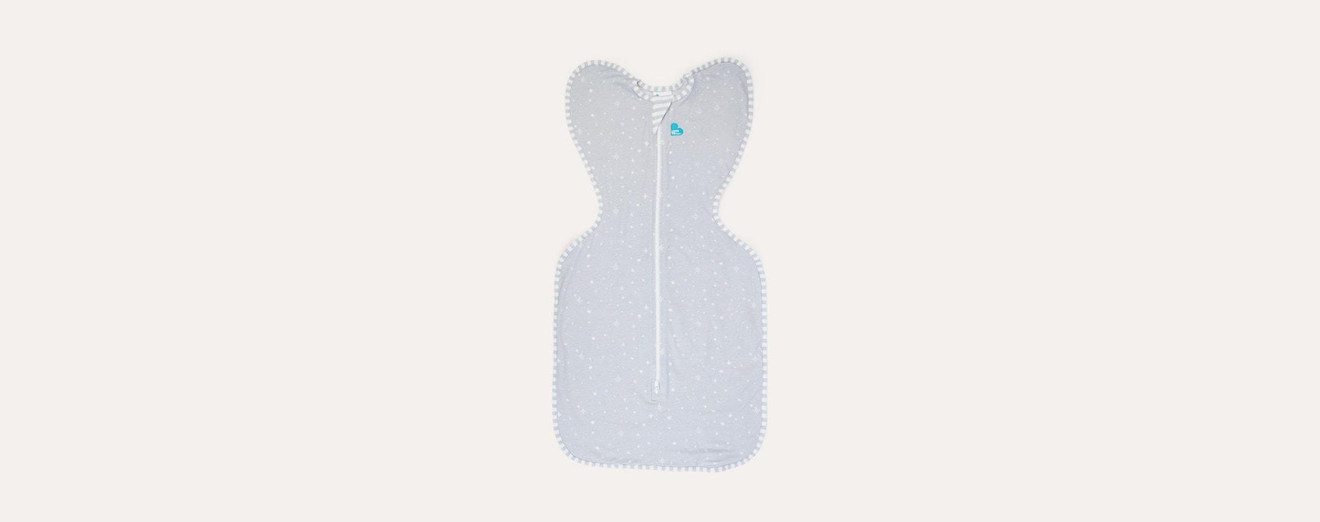 Grey Love To Dream Swaddle Up Lite 0.2 Tog