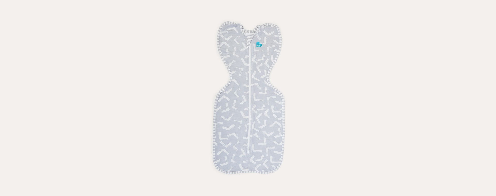 Grey Boomerang Love To Dream Swaddle Up Bamboo Lite 0.2 TOG
