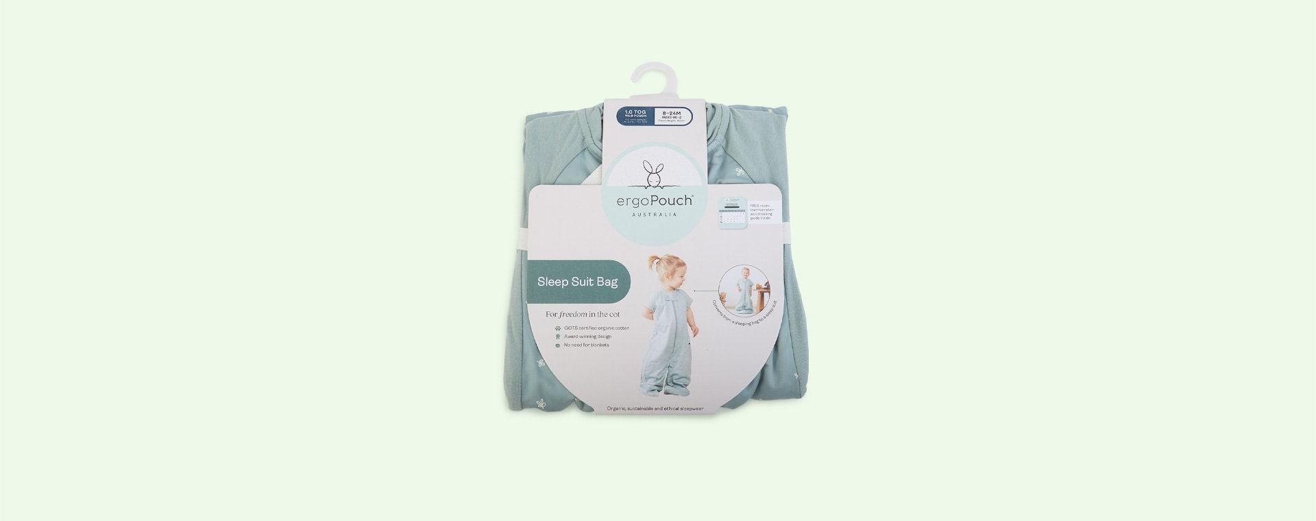 Sage Ergopouch Sleep Suit Bag 1 TOG