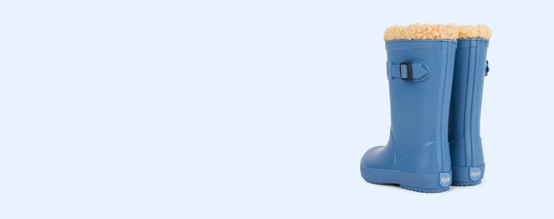 Azul igor Splash Euri Lined Welly