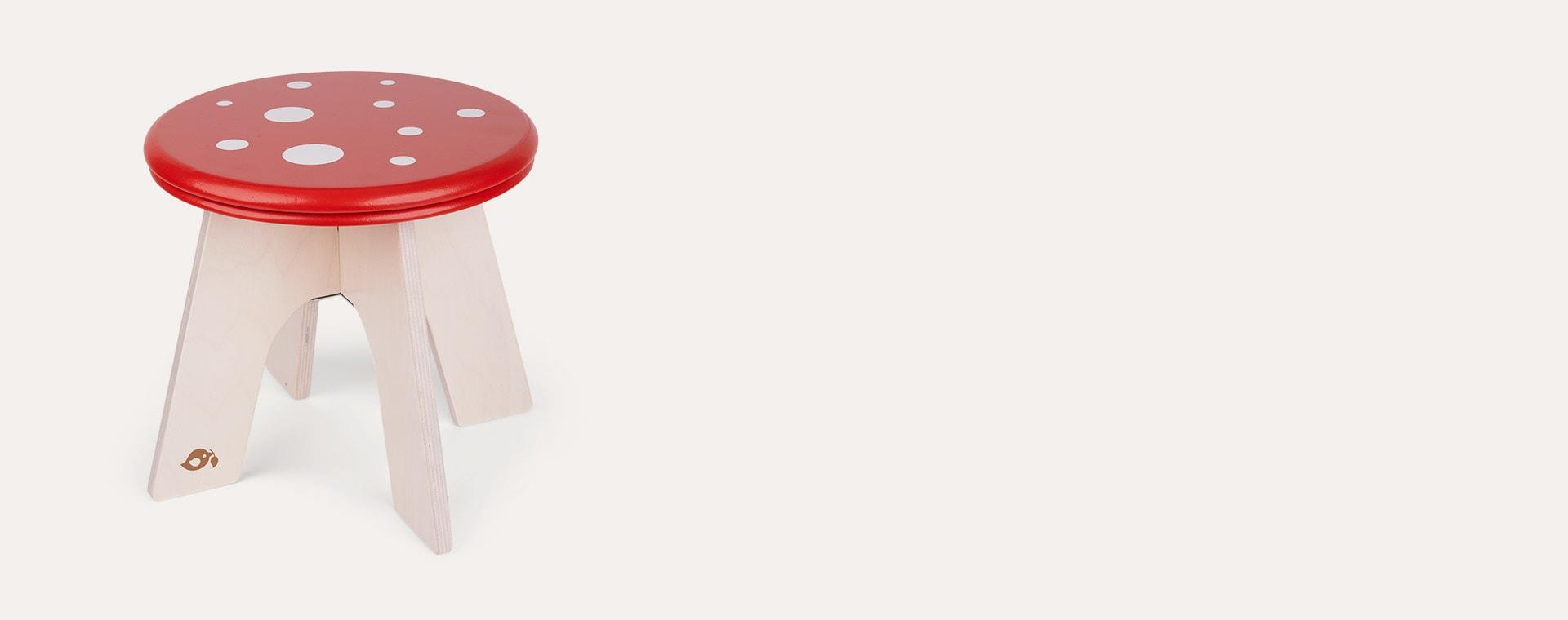 Red Tender Leaf Toys Toadstool