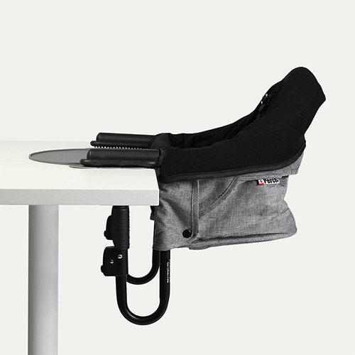 Grey Guzzie + Guss Perch Highchair, Liner and Placemat Bundle