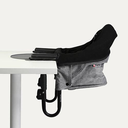Grey Guzzie + Guss Perch Highchair, Liner and Placemat Bundle