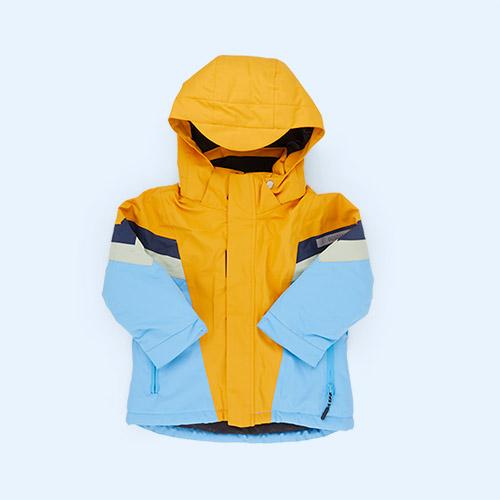 Golden Yellow/Bonnie Blue GOSOAKY Tigers Club Coat