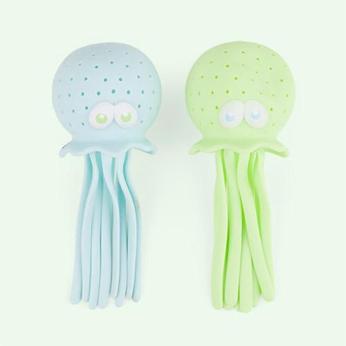 Blue/ Green Sunnylife Octopus Bath Squirters