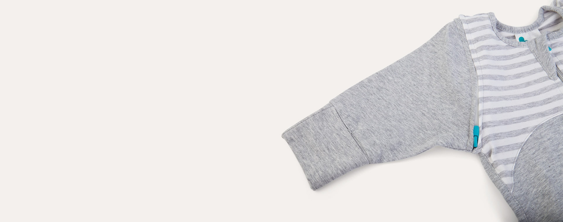Grey Love To Dream Love To Swaddle Up 50/50 Transition Suit 1.0 TOG