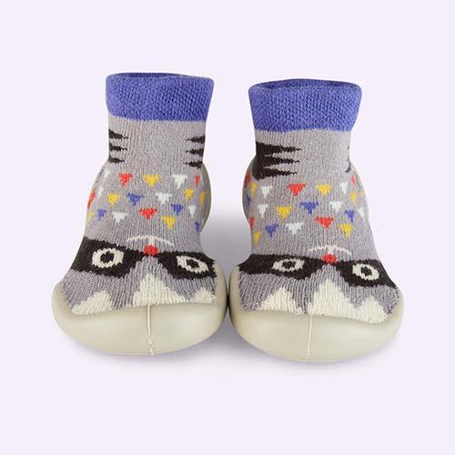 Racoon Collegien Slipper Socks