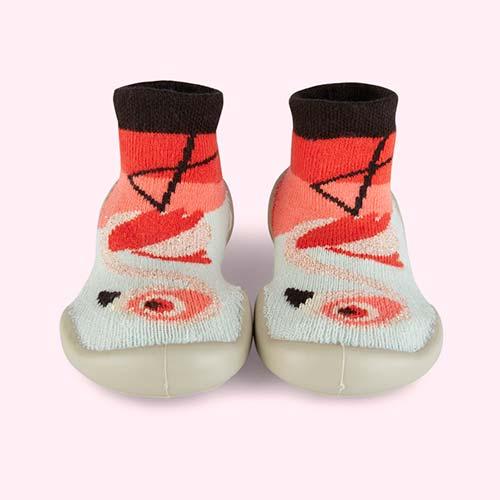 Flamingo Collegien Slipper Socks