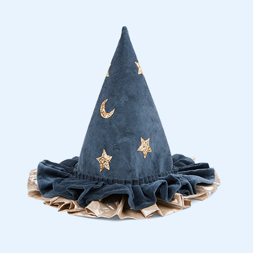 Blue Meri Meri Pointed Blue Hat