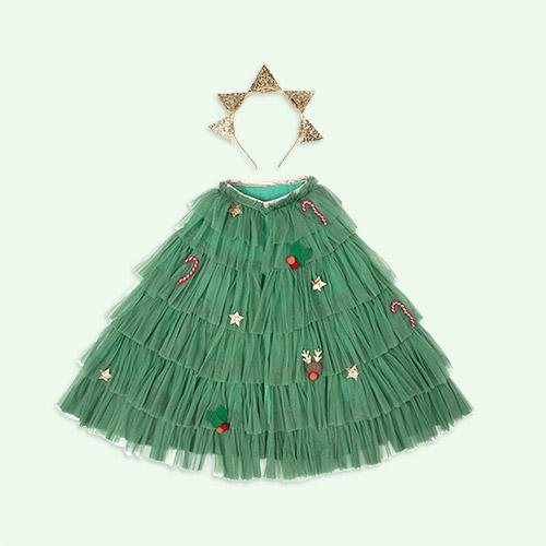 Green Meri Meri Tree Cape
