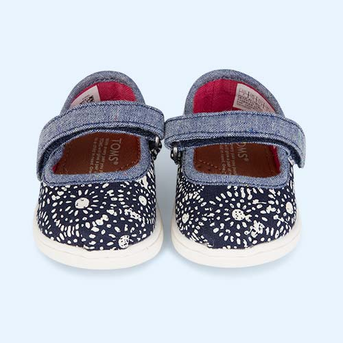 Shibori Dots TOMS Classic Mary Jane Shoe