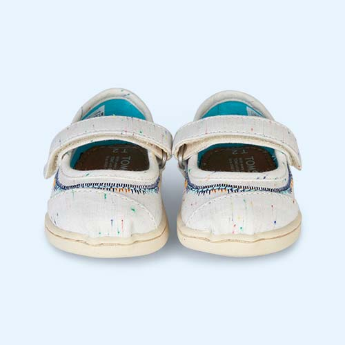Multi Fleck TOMS Classic Mary Jane Shoe