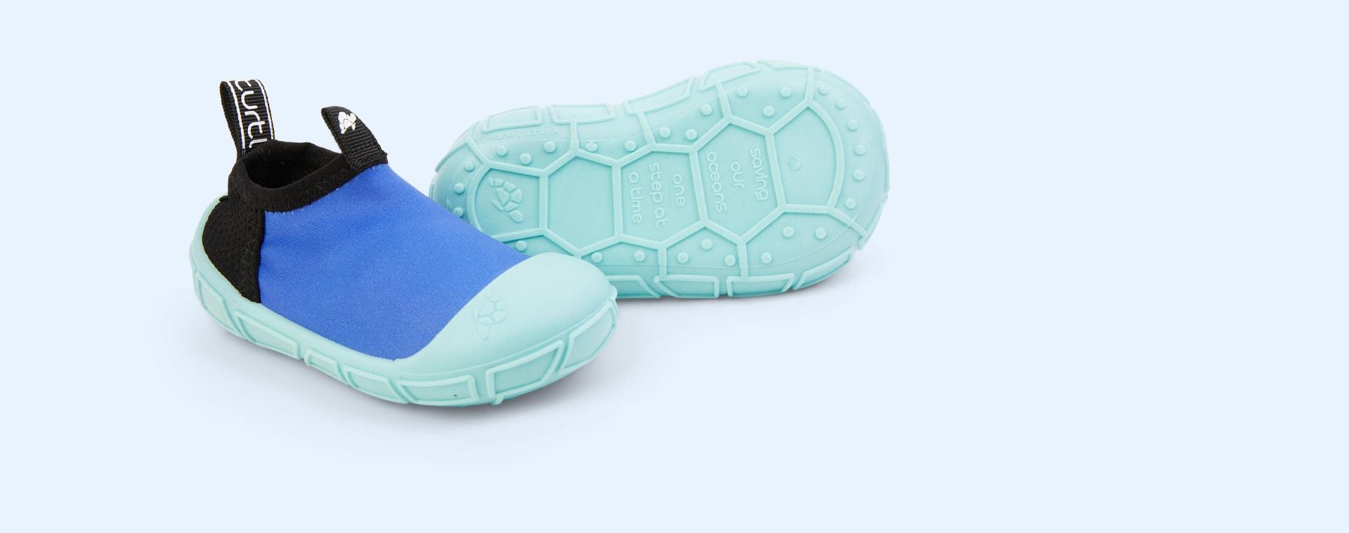 Blue turtl Aqua Shoes