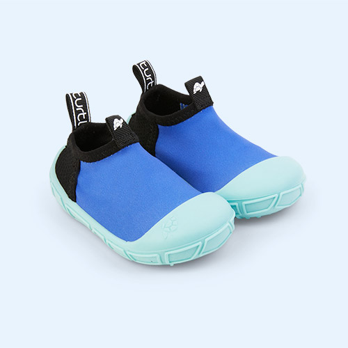 Blue turtl Aqua Shoes