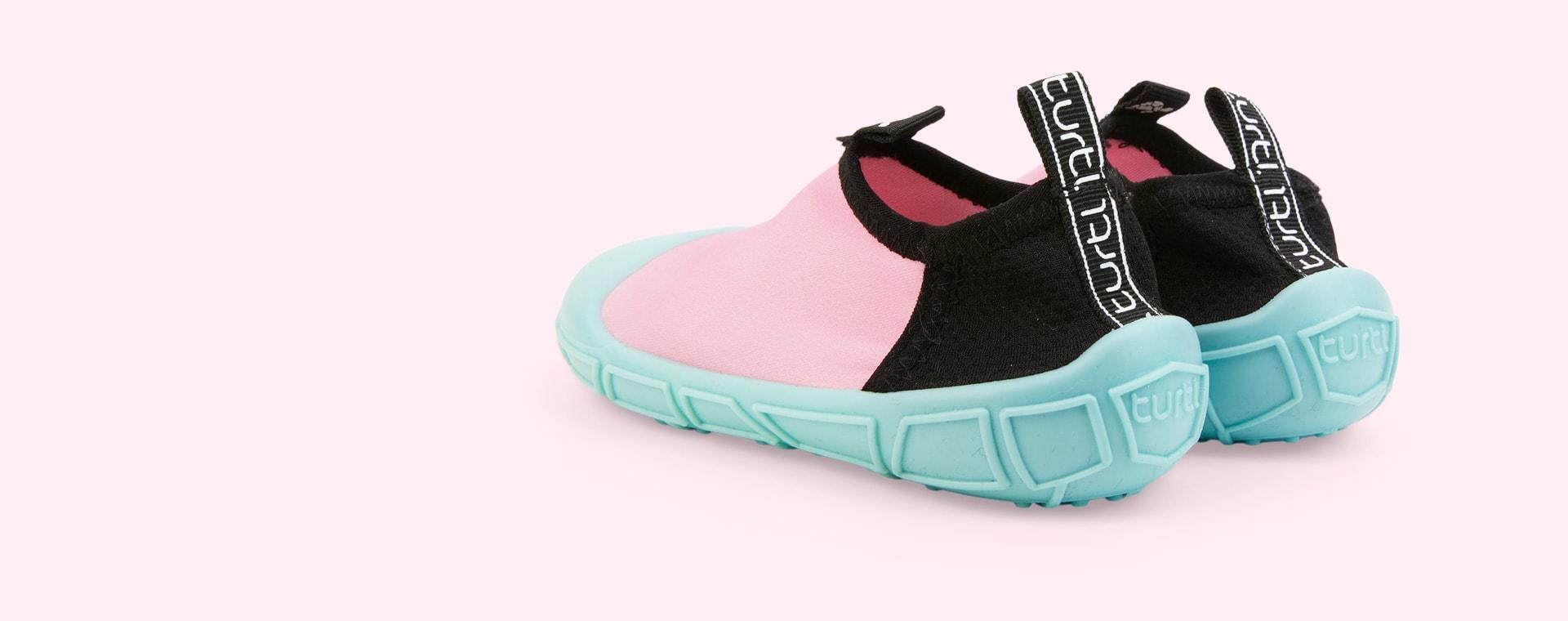 Pink turtl Aqua Shoes