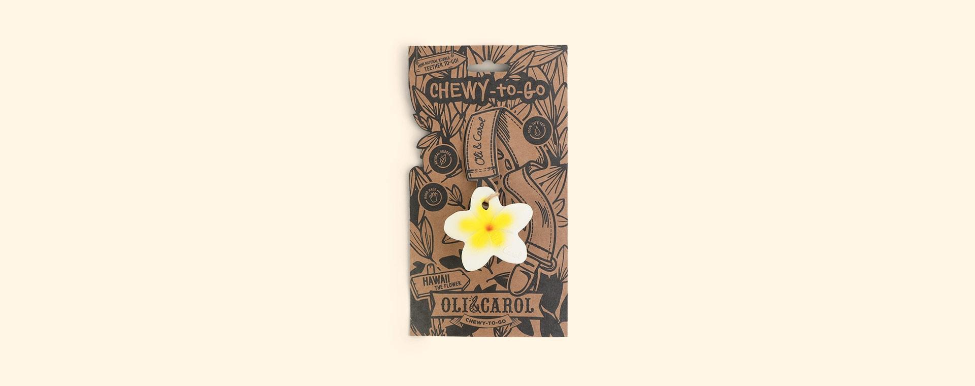 Yellow Oli & Carol Chewy-to-Go Hawaii The Flower