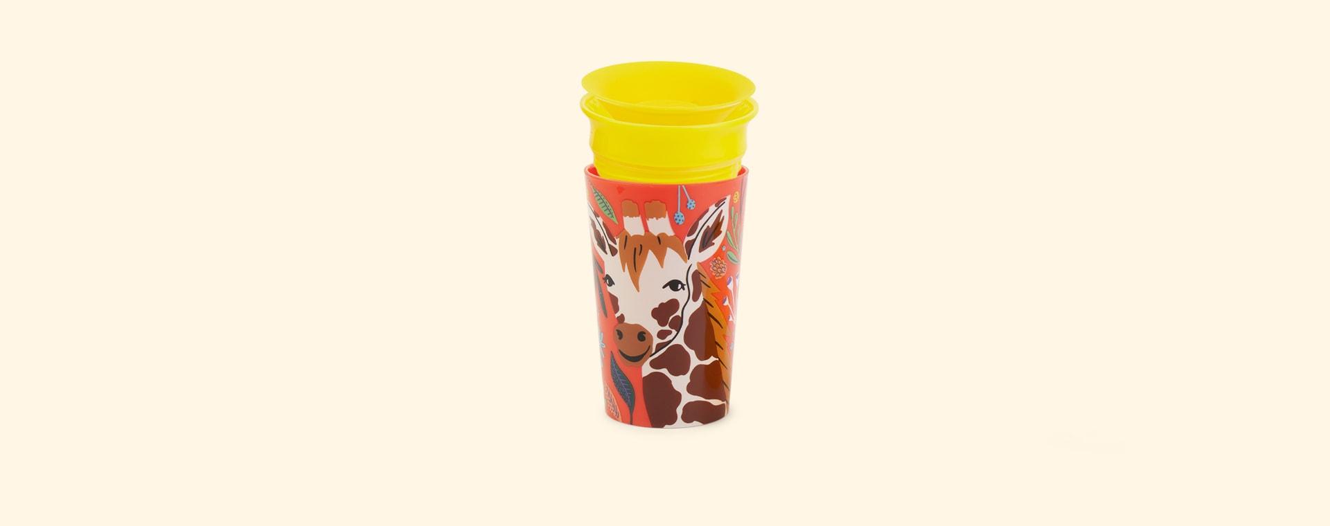 Giraffe Munchkin Miracle 360 Wildlove Sippy Cup