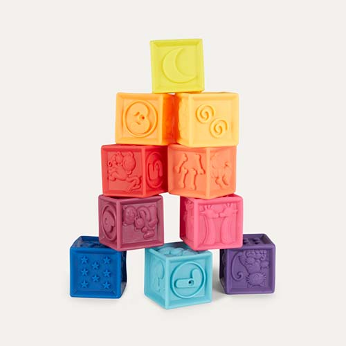 Multi B. Toys One Two Squeeze Blocks