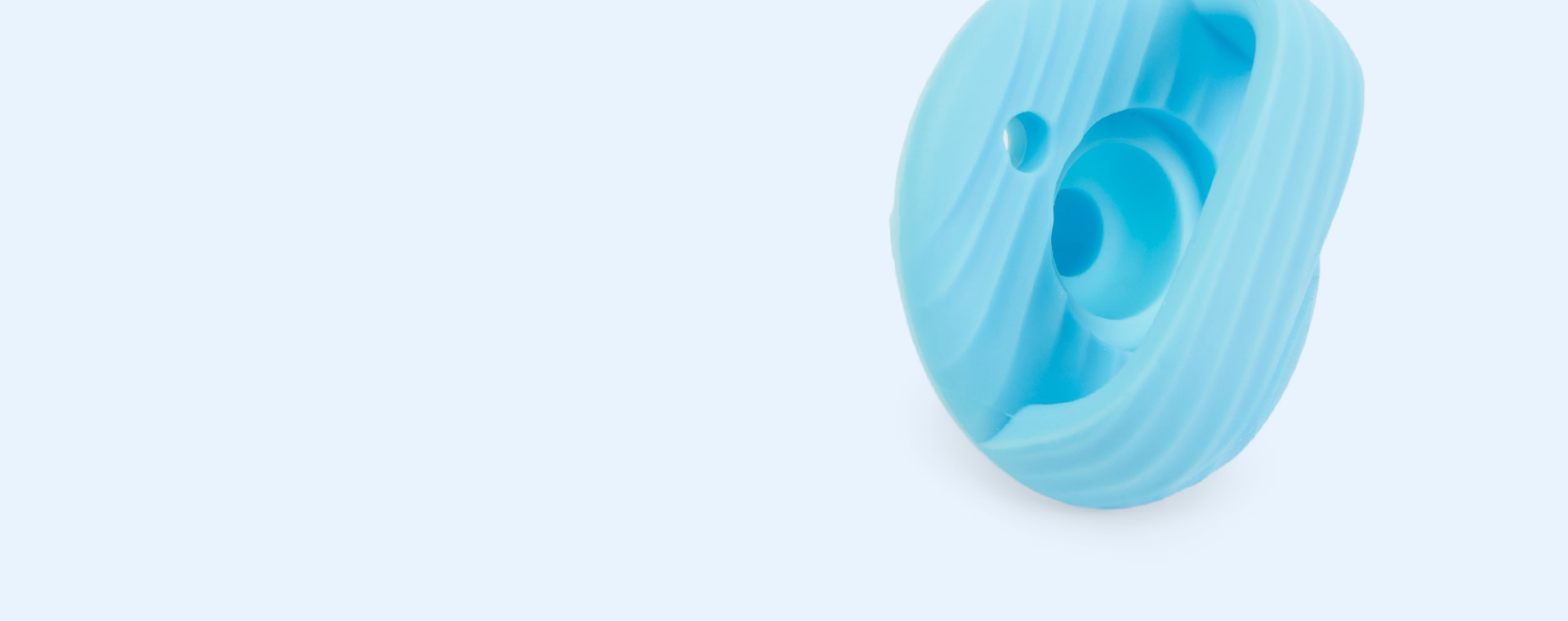 Blue/Green Munchkin 2-Pack Sili-Soothe & Teethe Pacifiers & Teethers