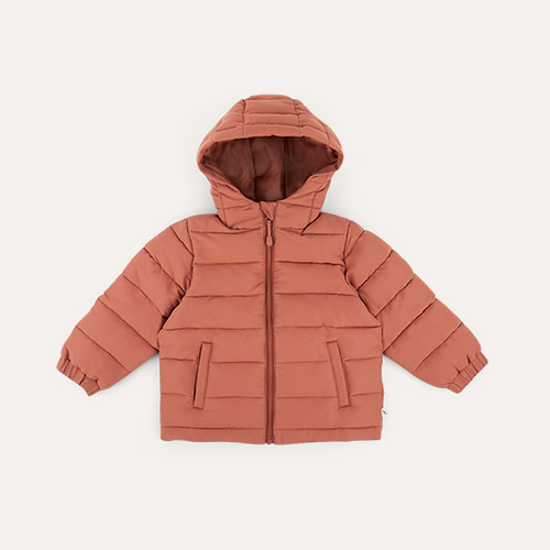 Copper KIDLY Label Recycled Padded Jacket