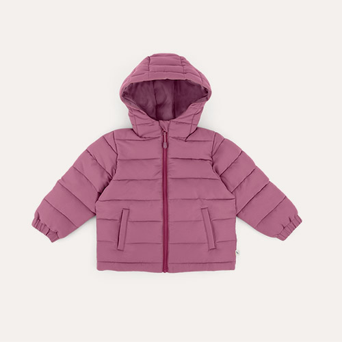Grape KIDLY Label Recycled Padded Jacket