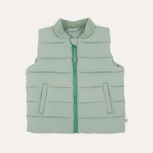Sage KIDLY Label Recycled Padded Gilet