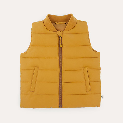 Toffee KIDLY Label Recycled Padded Gilet