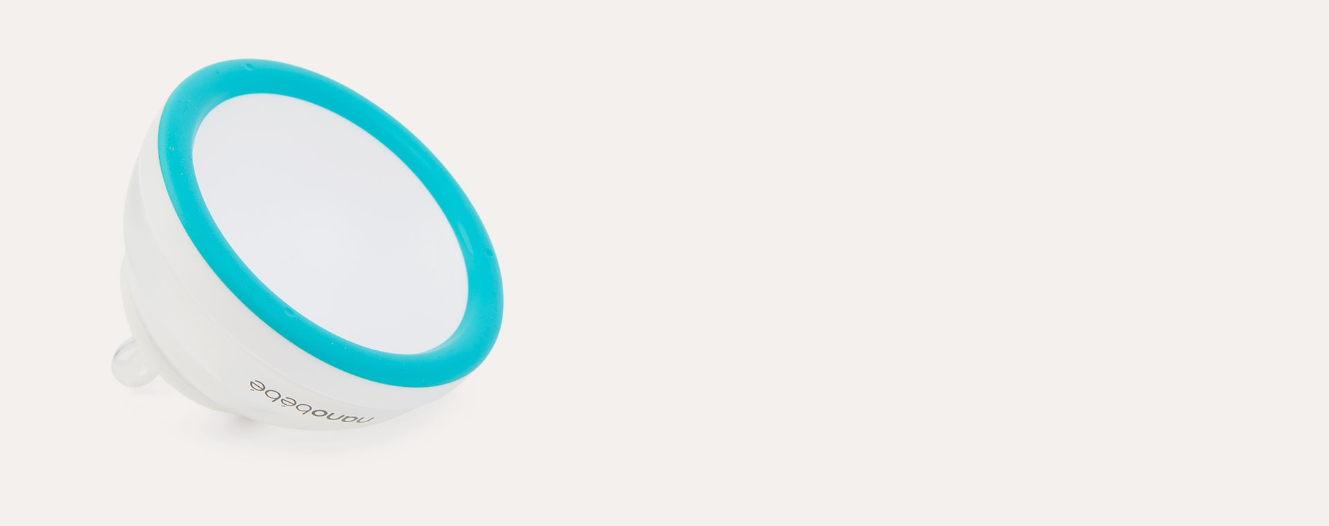 Teal nanobébé Breast Milk Bottle 3 Pack