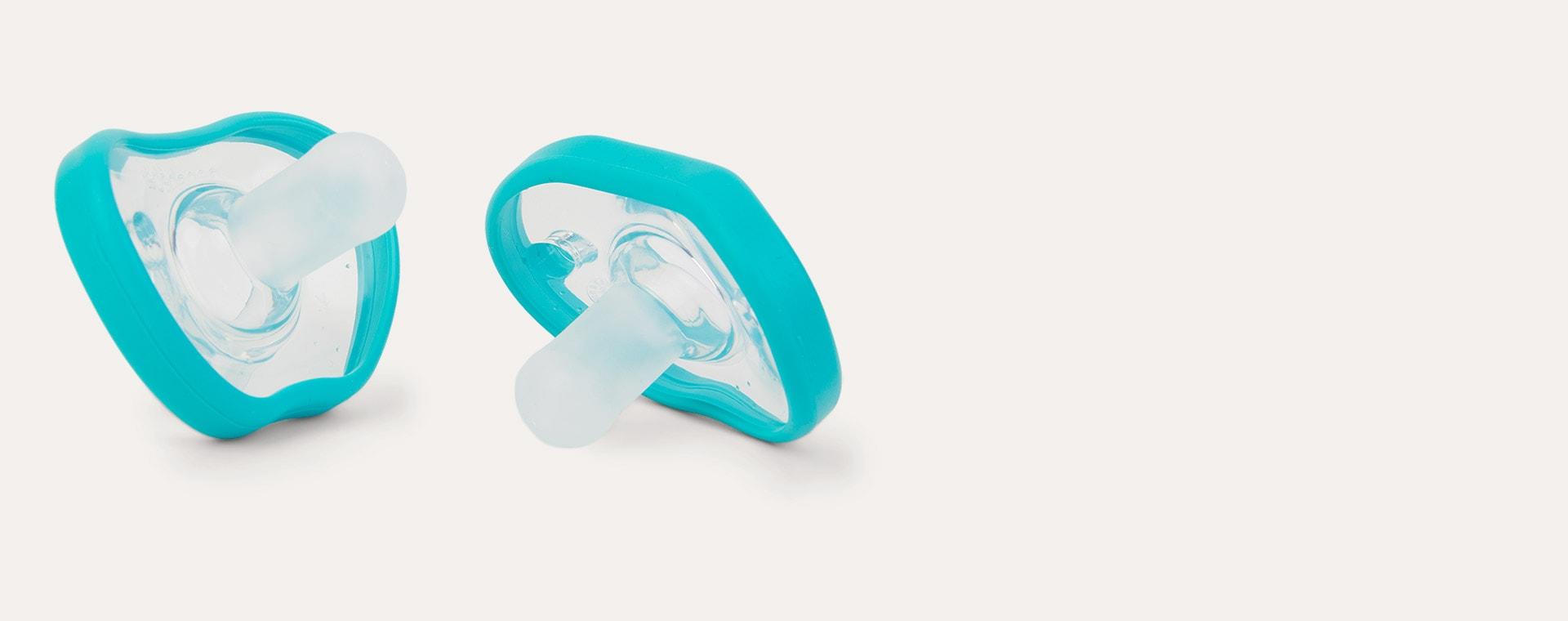 Teal nanobébé Breastmilk Bottle Starter Set