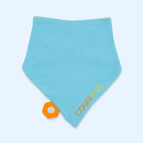 Sunshine Sky Cognikids Sooth Sensory Teething Bib