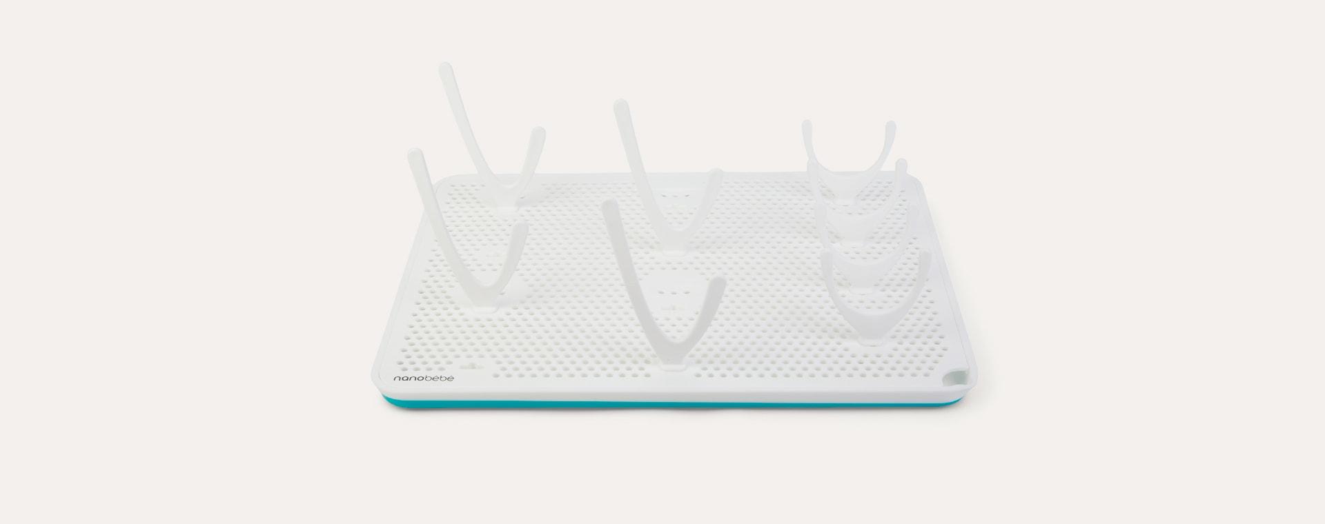 White nanobébé Compact Drying Rack